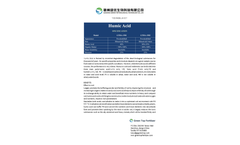 Humic Acid - Datasheet