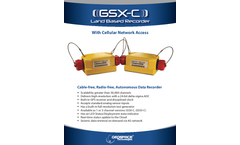 Model GSX-C - Land Based Recorder-Cellular Network Access Brochure