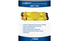 Model OBX 750E - Ocean Bottom Cable Brochure