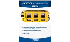 Model OBX 90 - Ocean Bottom Recorder Brochure
