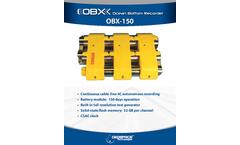 Model OBX 150 - Ocean Bottom Recorder Brochure