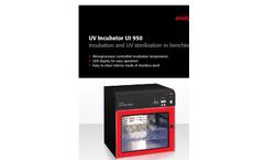Analytik Jena - Model UI 950 - Ultraviolet Incubator - Brochure