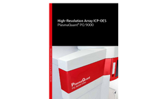 High-Resolution Array ICP-OES PlasmaQuant PQ9000 Brochure