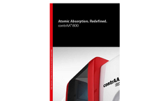contrAA 800 Series Atomic Absorption Redefined - Brochure