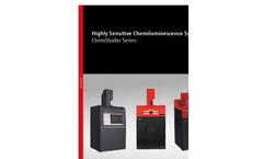 Analytik Jena UVP ChemStudio Series Next Generation of Gel and Blot Imagers - Brochure