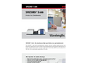 Specord - Model S 600 - UV Vis Diode-Array Spectrophotometer - Brochure
