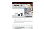 Specord S 600 UV Vis Diode-Array Spectrophotometer - Brochure