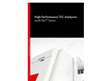 multi N/C Series - High Performance TOC Analyzers - Brochure