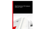 multi N/C Series - High Performance TOC Analyzers - Brochure