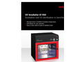 UV Incubator UI 950 - Incubation and UV Sterilization in Benchtop Format - Brochure