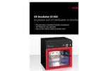 UV Incubator UI 950 - Incubation and UV Sterilization in Benchtop Format - Brochure