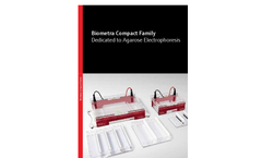 Biometra Compact Family - Dedicated to Agarose Electrophoresis - Brochure