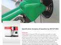 Specification Analysis of Gasoline by HR ICP-OES