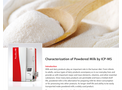Characterization of Powdered Milk by ICP-MS