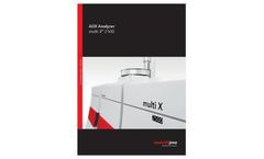 AOX Analyzer multi X 2500 - Brochure