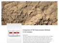 Comparison of TOC Determination Methods in Soil Samples