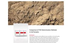 Comparison of TOC Determination Methods in Soil Samples