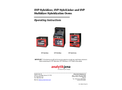 UVP Hybridizer, UVP HybriLinker and UVP Multidizer Hybridization Ovens - Operating Instructions Manual