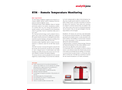 TOPwave RTM - Remote Temperature Monitoring - Flyer