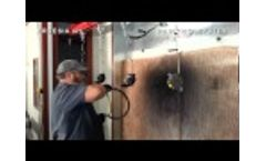 Painting System with Automatic Overhead Conveyor Video