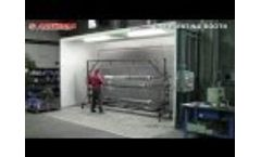 Painting Booth Dry Big Silver - Slate Ltd Video