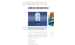 Filtro - Model GMM-SC-200-2300 - Sleeve Filters - Datasheet