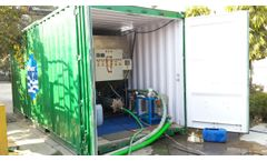 Waterneer High speed Clariflocculator - Mobile Wastewater Recycling Unit