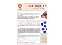 Model N H3 - 17 H2 - Low PPB Ammonia Monitor - Brochure
