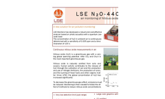 Model LSE N2O-4405 - Ultra Sensitive N2O Monitor Brochure