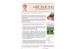 Model LSE N2O-4405 - Ultra Sensitive N2O Monitor Brochure