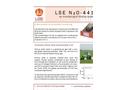 Model LSE N2O-4410 - Ultra Sensitive N2O Monitor Brochure
