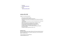 AirFlow - Model HVS-TSP - High Volume Samplers for Environmental Parameters Brochure