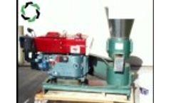 Diesel Engine Pellet Machine - Video