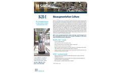 SiREM - Model KB-1 and KB-1 Plus - Bioaugmentation Culture System Brochure