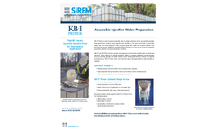 SiREM - Model KB-1 Primer - Anaerobic Injection Water Preparation Anaerobic Bioaugmentation Cultures Brochure