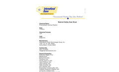 Hydroxyl Material Safety - Data Sheet