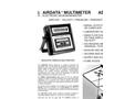 AirData - Model ADM-870C - Electronic Micromanometer Brochure