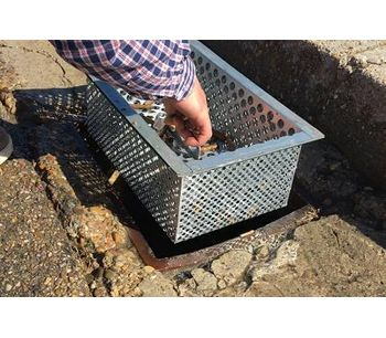 SUGARFILTER - The filter for storm drains by IVERNA