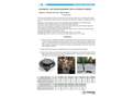 IVERNA Ventilation Sugarpod Activated Carbon Filter for Bad Odors - Technical Datasheet