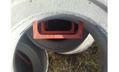 EcoPate - Economical and Ecological Line Manhole Steps