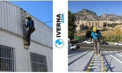 IVERNA 2000 - Model Aluflex - Flexible Safety Ladders