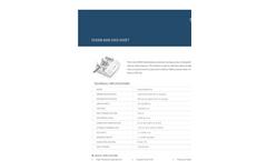 Fusion - Model 6000 - High Pressure Syringe Pump Specification Sheet