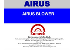 Airus Malaysia Blower for wastewater application