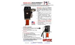 Wayne Maxi - Model SSV/5 - Large Variable Speed Oil Skimmer Brochure