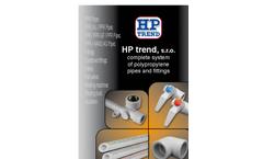 HP Trend - Plastic Pressure Pipes - Brochure