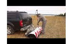 Ground Penetrating Radar Raptor Vehicle-Mount Carrier Set-Up - Video