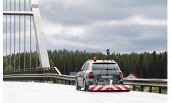 Ground penetrating radar solutions for road/bridge inspection sector