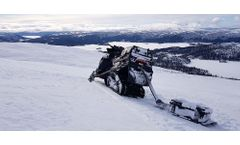 Snow Measurements with GPR for Hydrological Studies - Case Study
