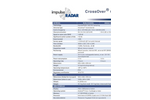 Crossover - Model C01760 - State-of-the-Art Dual-Channel GPR - Technical Datasheet