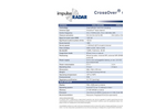 Crossover - Model CO730 - Dual-Channel Ground Penetrating Radar (GPR) Antenna - Technical Datasheet